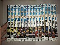 Lot of 16 Dragon Ball Z by Akira Toriyama Manga Books English 1-12, 20-23