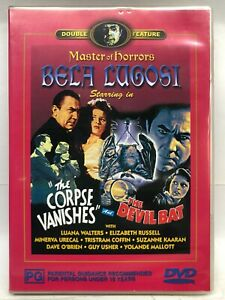 The Corpse Vanishes & The Devil Bat - 2 Movies on 1 DVD - AusPost with Tracking