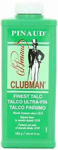 Clubman Pinaud Finest Talc Powder, 9 oz (Pack of 12)