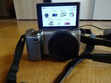 Sony Alpha NEX 5R 16,1 MP Gehäuse + Extras Digitalkamera TOP Fotos Touch Display