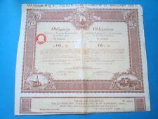 Polska Obligacja Warszawa 1931 - Poland Obligation Varsovia 1931