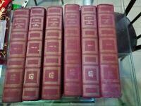 BRENNA ERNESTINA ENCICLOPEDIA DEI MAESTRI -6 volumi garzanti -1954