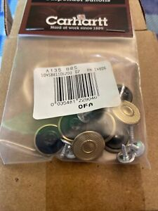 Carhartt Replacement suspender buttons 8pc per pkg [CA#1-135]  Free Ship US NEW