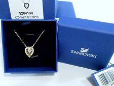 Swarovski Sparkling Dance Heart Necklace, GOS White/Crystal Authentic  5284190