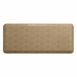 "GelPro Ergo-Foam Anti-Fatigue Kitchen Floor Mat, 20""x48"", Pebble Wheat"
