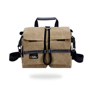 National Geographic Camera Shoulder Bag Insert Carry Case For DSLR Canon Nikon