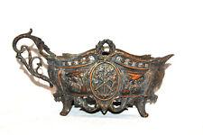 RARE Antique Fabrication Francaise Paris Made France Bronzed Spelter Planter