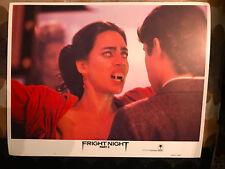 Fright Night Part 2 1988 Columbia horror lobby card Vampire Fangs