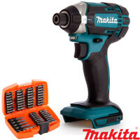 Makita DTD152Z 18V Li-ion Cordless Impact Driver With 53pcs Screwdriver Bit Set