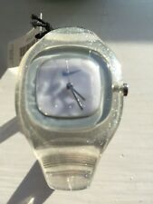 Nike Presto Analogue Sparkling White DESIGNER Watch 12-101 Bangle RARE