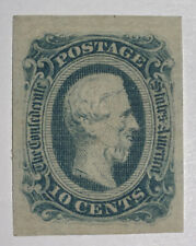 Travelstamps: US Stamps CONFEDERATE CSA SCOTT #12 MINT NG Jefferson Davis