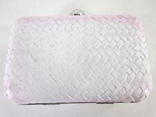 JESSICA McCLINTOCK BRIDAL MINAUDIERE V51023/09 FASHION CLUTCH, WHITE, ONE SIZE