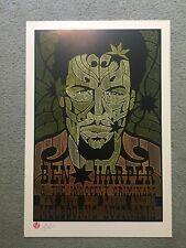 Ben Harper & The Innocent Criminals Original Concert Poster Melbourne 2006