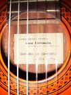 1976 Spanish Handmade Parramon Classical Concert Guitar with BrandNew HardCase   for sale