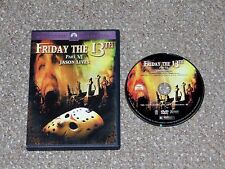 Friday the 13th - Part 6: Jason Lives DVD 2001 Tom McLoughlin