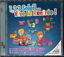 VIVE LA RENTRÉE - CD AUDIO RENTRÉE SCOLAIRE INCLUS LIVRET  - NEUF ET SOUS CELLO