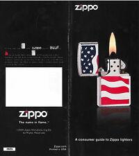 Zippo A Consumer Guide to Zippo Lighters 2009