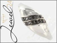 Private Diamonds Damen Cocktail Ring echt Silber 925 Sterling mit Diamanten