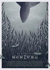 Bon Iver poster 5 size 8.3X11.7&11,7X16.5