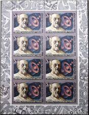 RUSSIA SOWJETUNION 1986 Klb 5591-93 MS 5442a-44a Gagarin Korolev Tsiolkovsky MNH