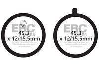 FIT YAMAHA RD 200 DX 75>78 EBC FRONT ORGANIC BRAKE PADS
