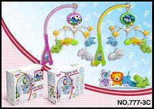 Campana de cama de bebé cuna Musical móvil colgante de anillo de cama dreamful girar Bell Juguete V4D3