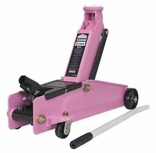 Professional Sealey Heavy-duty Trolley Jack Long Chassis One-piece Hydraulic 3t
