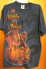 HOUSE OF BLUES concert hall med T shirt Orlando dragon scales guitar tee