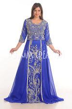 BRIDAL MOROCCAN CAFTAN FANCY JILBAB TAKSHITA DESIGN FOR WOMEN GOWN DRESS 4737
