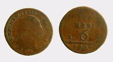 pci3946) Napoli Regno - Ferdinando IV (1759-1816) 6 Tornesi 1803