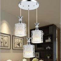 3 Lights Petal Ceiling Light LED Pendant Lamp Dining Room Chandelier Modern