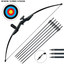 "30/40lb 52"" Archery Takedown Recurve Bow Arrows Set Right Hand Beginner Hunting"