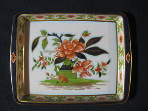 Daher Decorated Ware Flowered Tray Made in England