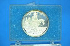 1823-1973 TEXAS RANGER COMMEMORATIVE SILVER BULLION COIN--1 OUNCE--.999--ENCASED