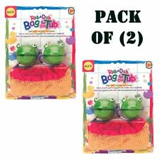 Pack of (2) New Alex Toys - Rub a Dub Bag Froggy Kids Children's Toy #97P630Frog
