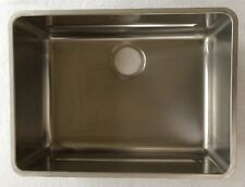 New Franke KBX110-55 Stainless Steel Kubus Kitchen Sink Undermount Retail: $1329