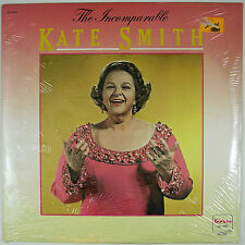 KATE SMITH  The Incomparable Kate Smith LP 1980 POP VOCAL (SEALED)