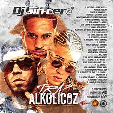 DJ SINCERO Trap Alkolicoz 5 Reggaeton Latin Spanish Mixtape CD MIX Bad Bunny