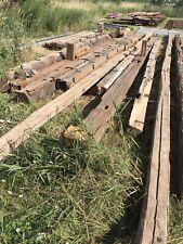 Long 40 Foot Hand Hewn Barn Wood Beams Rustic Reclaimed Barnwood Mantel Mantle
