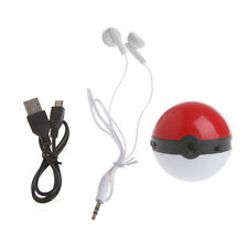 Rechargeable MP3 Music Player Micro SD TF Card Media Ball Colorful Light USB 2.0