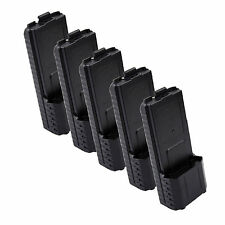 5X BAOFENG AAX6 Extended Battery Case/Shell for Radio BF-UV5R TONGFA TYT TH-F8