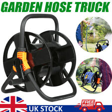 More details for portable free standing water pipe hose reel garden holder trolley cart carrier