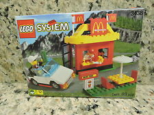 Lego Town McDonalds Restaurant (3438) Vintage (1999) MISB Collectible