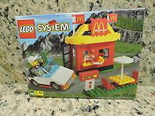 Lego Town McDonalds Restaurant (3438) Vintage (1999) MISB Collectible