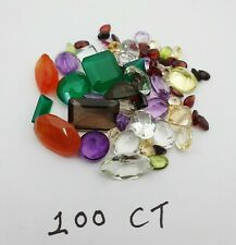 100 Ct Lot of Mix Faceted Stone~ Choose Your lot
