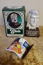 *Vintage* Elvis Presley McCormick Bust Limited Edition Bourbon Whiskey Decanter