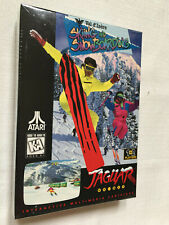 Val D'Isere Skiing and Snowboarding (Atari Jaguar) Brand new, factory sealed Nib
