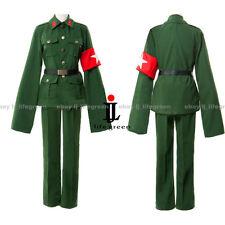 Hetalia: Axis Powers China/Wand Yao Dark Green Uniform Clothing Cosplay Costume