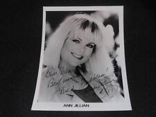 Its A Living Actress Ann Jillian Signed 5x7 Autograph Vintage Photo JB5