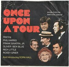 MEL-TONES--PICTURE SLEEVE + 45 for(ONCE UPON A TOUR)-TV-SPECIAL--PS--PIC--SLV